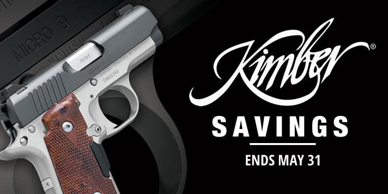 Special: Kimber Pistol Savings