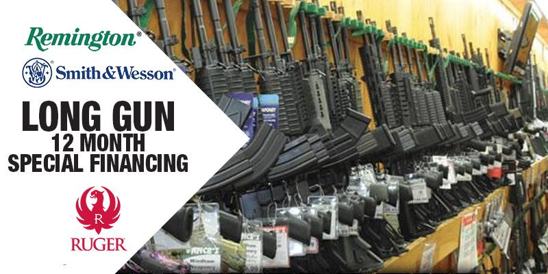 Long Gun Finance Specials