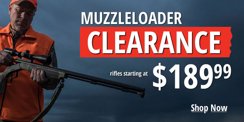 Muzzleloader Clearance Sale | Vance Outdoors