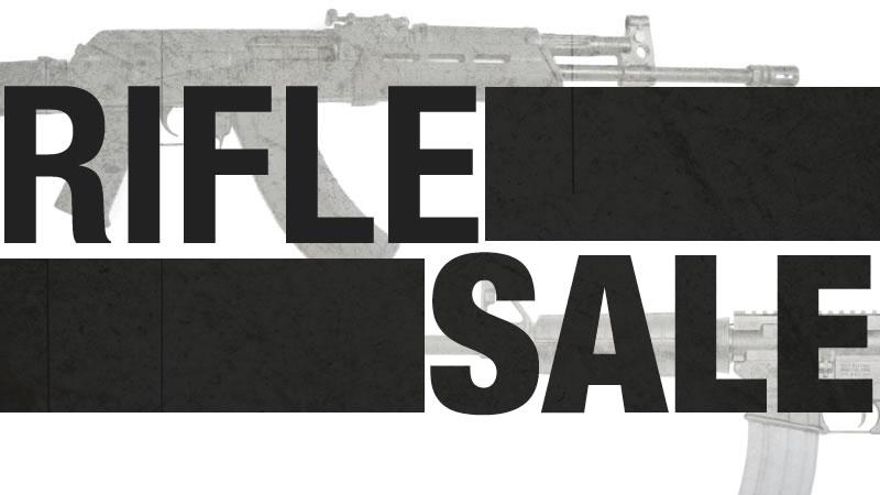 AR15 and AK-47 Rifle Sale