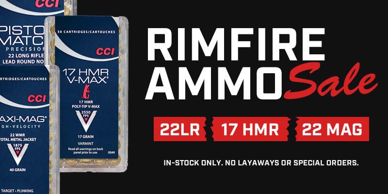 Special: Rimfire Ammo Sale
