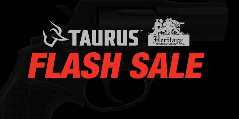 Taurus & Heritage Flash Sale