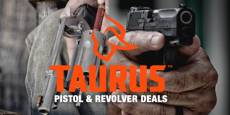 Special: Taurus Pistol and Revolver Deals