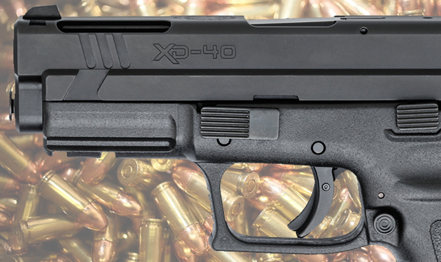 Springfield XD Pistol with Ammo