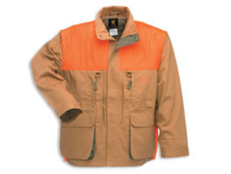 UPLAND FIELD COAT W/ZIP OFF SLEEVES