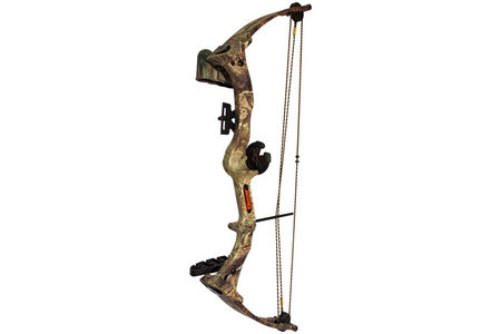 BRAVE 3 YOUTH BOW CAMO W/BISCUIT