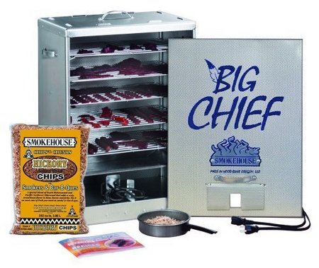 BIG CHIEF FRONT LOAD SMOKER 9890