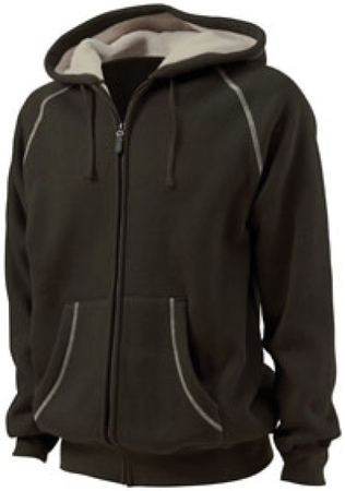 SHERPA LINED BONDED THERMAL HOODY