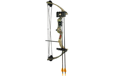 WARRIOR III CAMO BOW SET W/BISCUIT