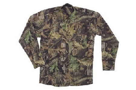 BELL RANGER OUDOOR COTTON TWILL 2 POCKET CAMO SHIRT