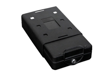 CAR/PERSONAL SAFE W/KEY LOCK, SMALL