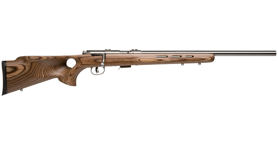 Savage Mark II BTVS 22LR Bolt Action Repeater Stainless ...