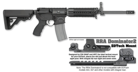 ROCK RIVER ARMS LAR-15 Tactical Operator 2 with RRA Dominator2 EOTech Mount