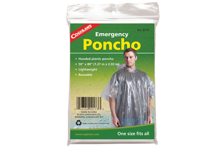 FT S EMERGNCY PONCHO 9173