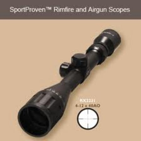 4-12X40OAO RIMFIRE AND AIRGUN SCOPE