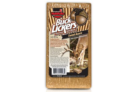 BUCK LICKER SWEET ACORN 4LB BLOCK 14098