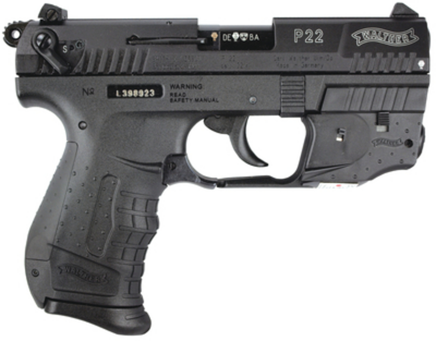 WALTHER SW  P22 .22LR PISTOL 3.42 BARREL