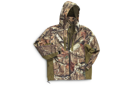 YUKON GEAR APPAREL SCENT FACTOR CAMO JACKET