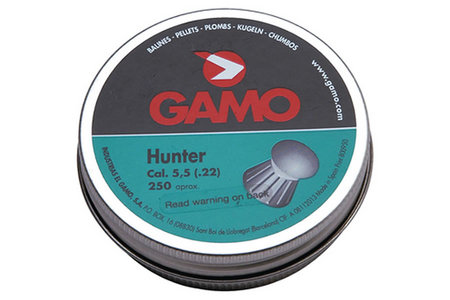 TIN OF 250 HUNTER PELLETS (RN)