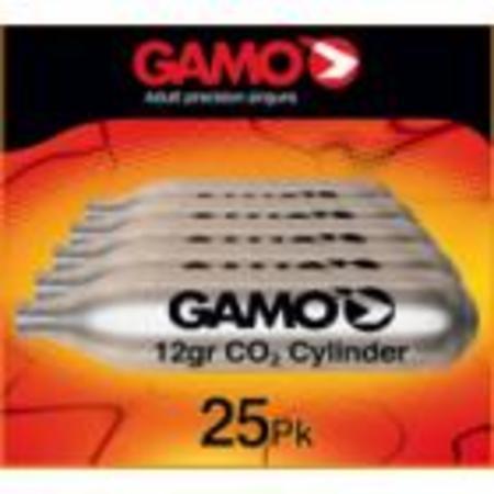 12 GR CO2 CYLINDER, 25 PK