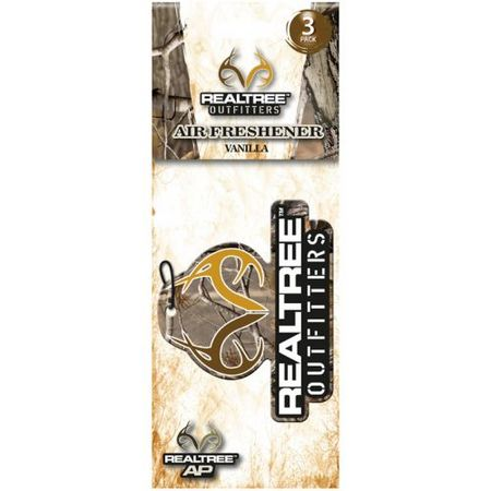 TEAM REALTREE VANILLA SCENT AIR FRESHNER