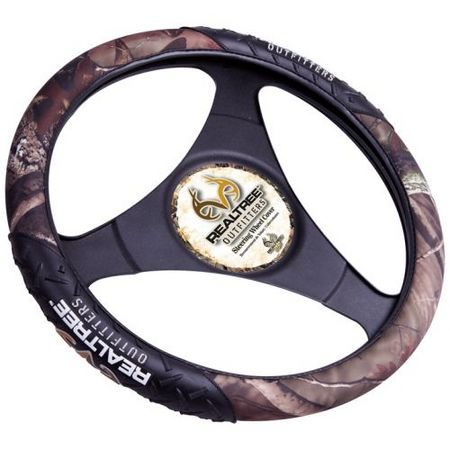 REALTREE DELUXE STEERING WHEEL COVER