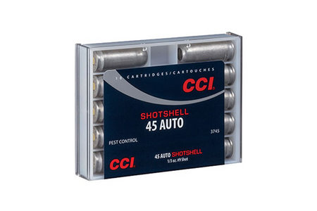CCI AMMUNITION 45 Auto 120 gr #9 Shot 10/Box