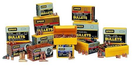 Speer 22 Cal ( 224) 33GR Hollow Point (Hornet) Bullet
