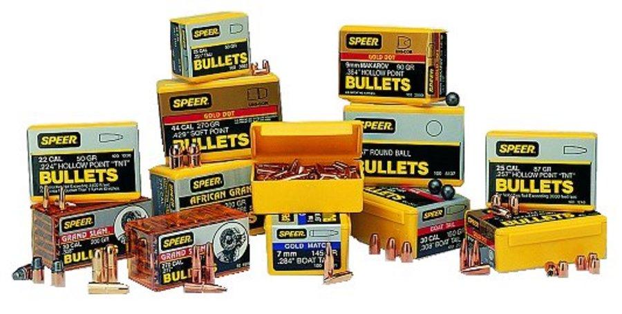 SPEER AMMUNITION 358-180-GR FN BULLET