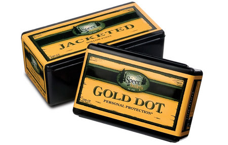 SPEER AMMUNITION 9MM .355 124 GR GOLD DOT HP 100/BOX