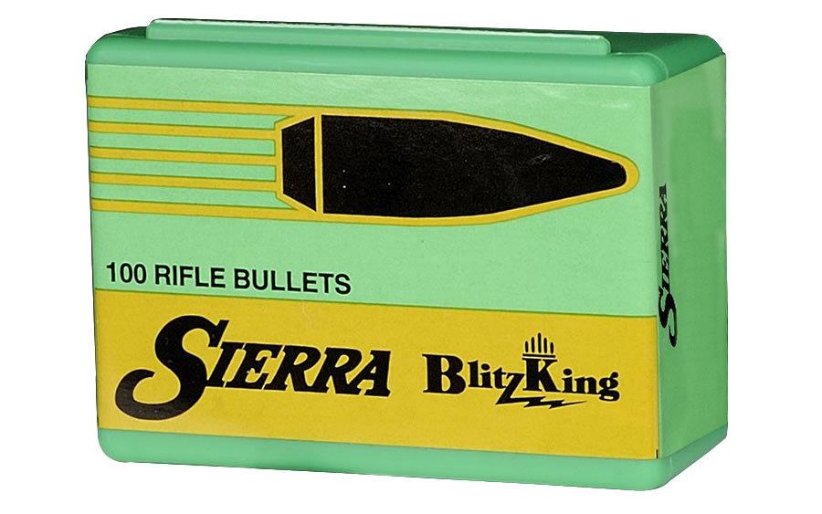 SIERRA BULLETS .22 (.224) H.V. 50 GR. BLITZ KING 1450