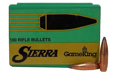 Sierra Bullets 6MM  243 85 GR Hollow Point Boat Tail GameKing 100/BOX