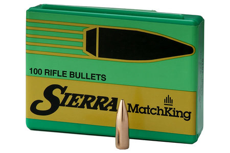 30 CAL 7.62MM, 135 GR HPBT MATCH KING