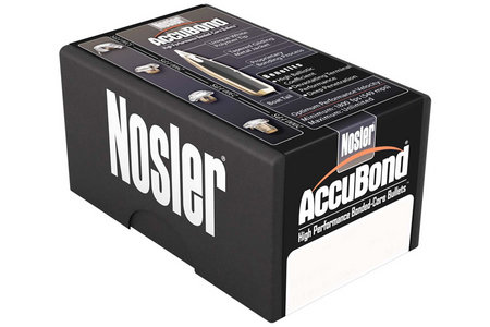 NOSLER 30 CAL .308 200 GR SPITZER ACCUBOND 50/BOX