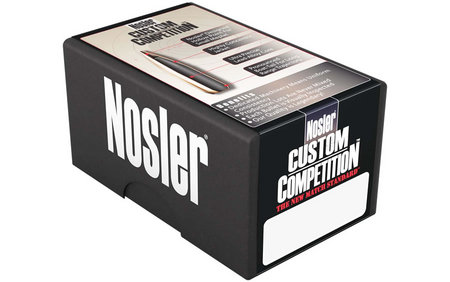 NOSLER 22 CAL .224 69 GR HPBT CUSTOM COMPETITION 100/BOX