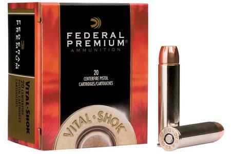 Federal Ammunition .357 Mag 140 gr Barnes Expander Vital-Shok 20/Box
