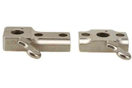 2 PIECE QUICK RELEASE SILVER 50059
