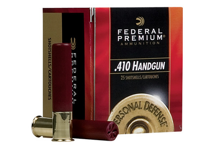 FEDERAL AMMUNITION 410 Ga 3 In 9 Pellet 4 Buck Personal Defense 20/Box
