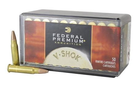 FEDERAL AMMUNITION 17 HMR 17 gr Speer TNT HP V-Shok 50/Box