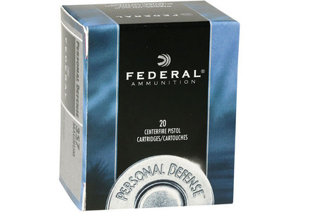 FEDERAL AMMUNITION 357 MAGNUM 125 GR JHP PERSONAL DEFENSE 20/BOX
