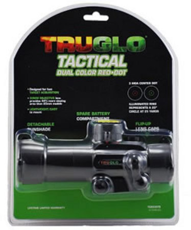 TACTICAL DUAL COLOR RED DOT TG8030TB