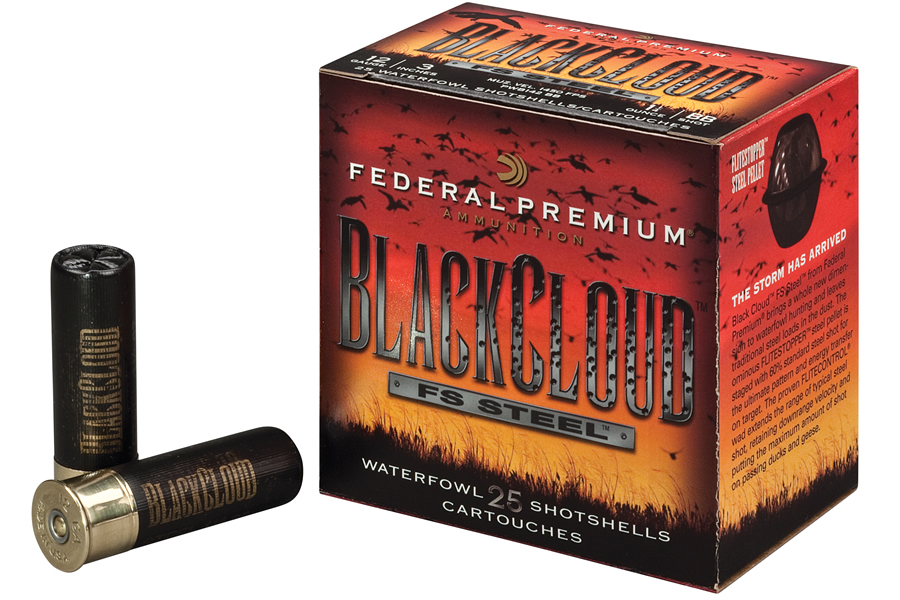 FEDERAL AMMUNITION 12 GA 2-3/4 IN 1 OZ 3 BLACK CLOUD