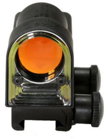 REFLEX 11 AMBER TRIANGLE W/FLATOP (RX14)