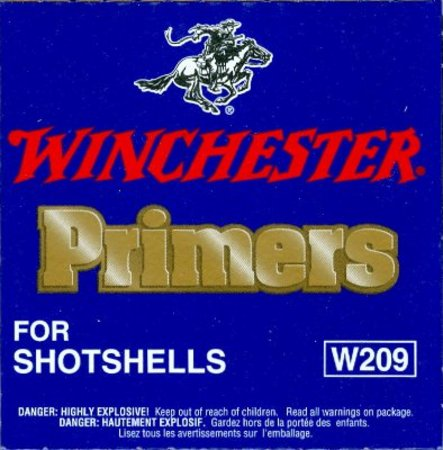 209 SHOTSHELL PRIMERS PACK