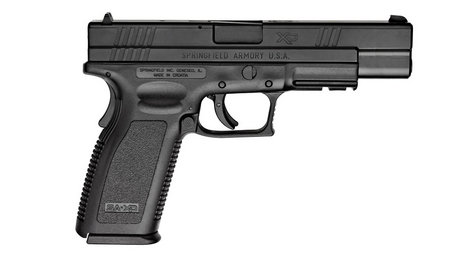 SPRINGFIELD XD 9MM TACTICAL MODEL BLACK