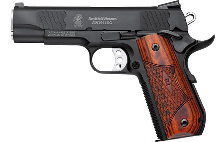 SMITH AND WESSON SW1911SC 45ACP E-SERIES ROUND BUTT