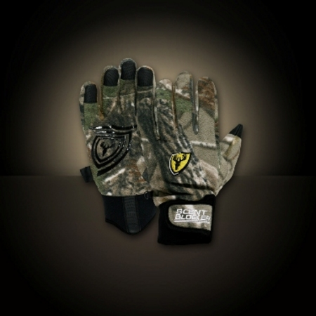 PRO GRIP FLEECE CAMO GLOVE PGRIP