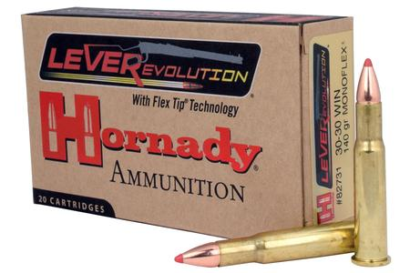 HORNADY 30-30 Win 140 gr MonoFlex LEVERevolution 20/Box