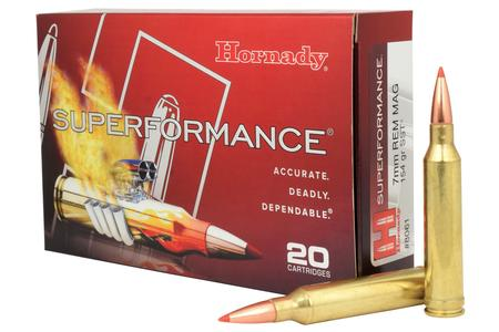 Hornady 7mm Rem Mag 154 gr SST Superformance 20/Box