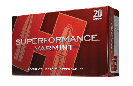 HORNADY 22-250 Rem 50 gr V-Max Superformance Varmint 20/Box